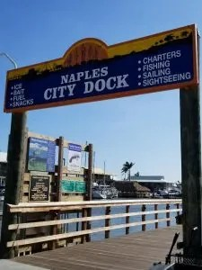 Naples City Dock at Crayton Cove take a stroll and get a bite to eat