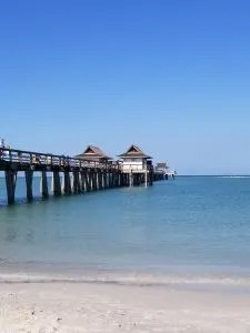 Historic Naples Pier a beautiful beach and amazing sunsets