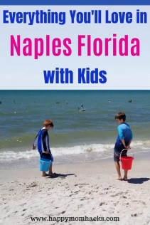 Best Things to Do in Naples Florida with Kids. Top Attraction at the Beach, Tin City, Restaurants, downtown and more. Everything you need to know before you go. #naples #florida #floridavacations #wintergetaway #familyvacations