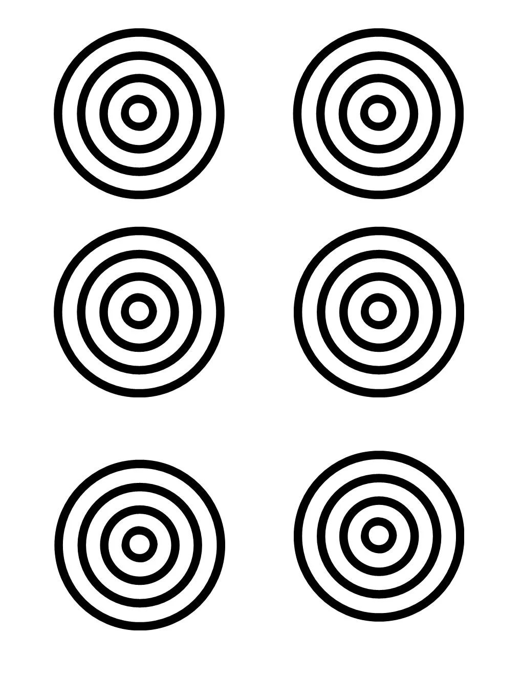 It is a picture of Comprehensive Nerf Target Printable