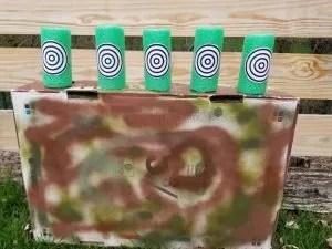 DIY Nerf Gun Targets