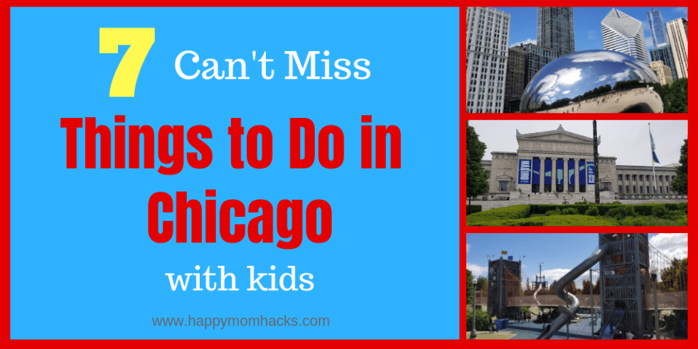 7 Things to Do in Chicago with kids. All the best Chicago attractions for families. Visit museums, Lincoln Park zoo, Shedd Aquarium, millennium park, Maggie Daley park, and more. Bonus free things to do in Chicago too!