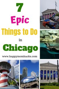 7 Epic Things to Do in Chicago with Kids. Explore the Fun Chicago Attractions like museums, zoos, and parks. Unforgettable activities in the Summer or Winter months. #chicago #chicagoattractions #thingstodowithkids #familytravel #familyvacation