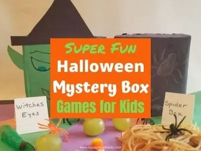 Fun Halloween Mystery Box Games for Kids at School Parties or at Home