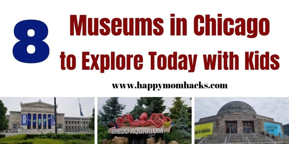 Get the Best Museums in Chicago to visit with Kids. 8 Fun places to visit in Chicago from Field Museums, Science & Industry Museum to Children's Museums. Be ready for a fun day out at the top Chicago Attractions. #chicago #chicagoattractions #chicagomuseums #museums #kids