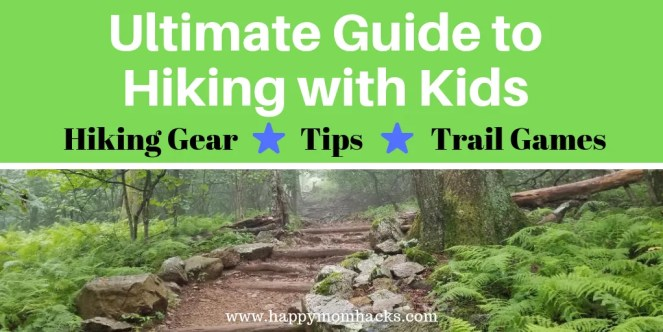 10 Tips for Hiking with Kids. Plus the best hiking gear to use for families with a Free printable hiking checklist. Keep everyone engaged and excited on your hike with fun activities like nature scavenger hunts. Get all the tips you need in this Ultimate Guide to Hiking with Kids. #hiking #hikingwithkids #travelwithkids #nationalparks #checklist #freeprintable