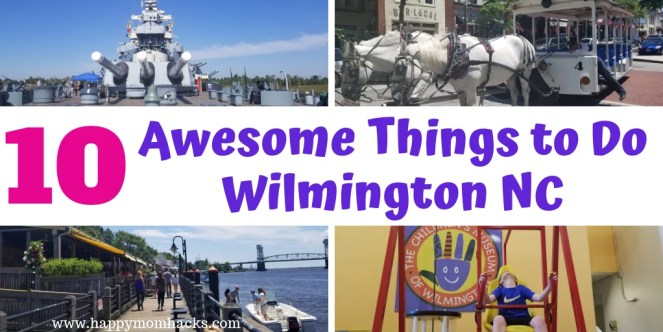 10 Best Things to Do in Wilmington North Carolina for both kids & adults. An Ultimate Guide of everything to see & do. Visit the Battleship North Carolina, Children's Museum, historic downtown, restaurants,  Riverwalk tips, the Beaches, Cape Fear Museum and more. All the tips & ideas you need for a unforgettable vacation. #northcarolina #wilmingtonnc #familytravel #battleshipnc #beaches #travelwithkids #traveltips
