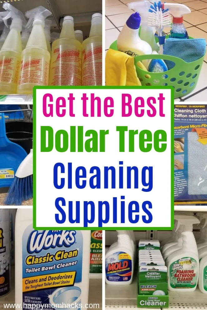 45 Best Cleaning Supplies & Products from Dollar Tree. Plus a Caddy to get your organized. Find out what you can't miss out buying at the dollar store. #dollartree #dollarstore #cleaning #cleaningproducts #diy #caddy #dollartreefinds