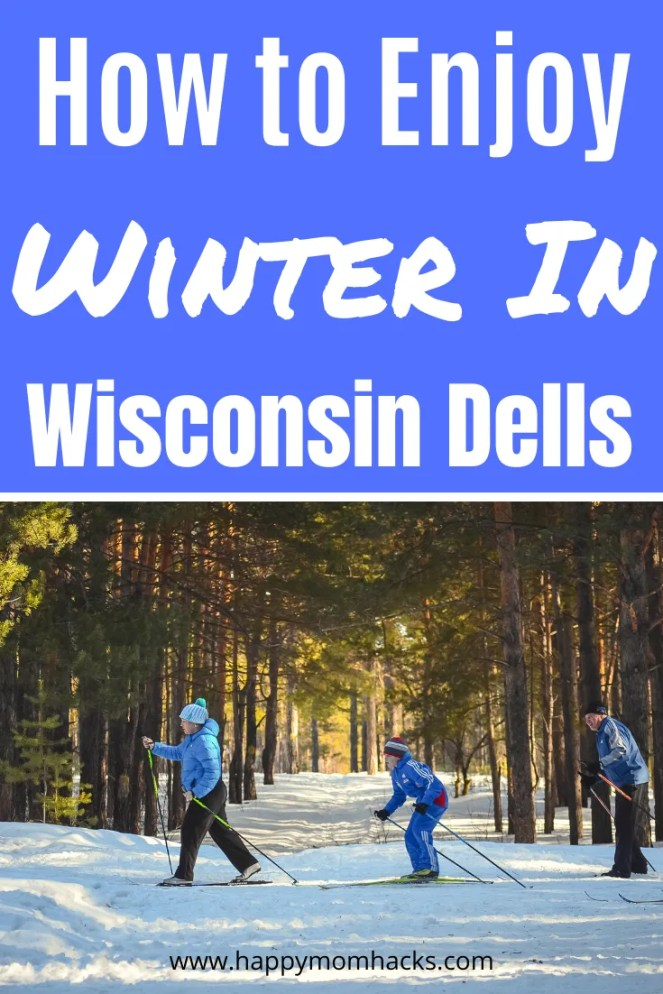 Winter in Wisconsin Dells - Fun things to do for families. All the best attractions in the Dells plus waterparks & resorts to stay. Everything you need for a family vacation in Wisconsin Dells any time of year. #wisconsindells #winterinwisconsindells #wisconsindellsattractions #wintervacation #travelwithkids #wintervacation #wintergetaway