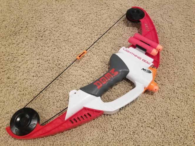 Cool Nerf N-Strike Elite Mega Lightning Bow Review for Kids