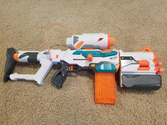 Nerf Gun Tri-Strike Nerf Gun Review for kids