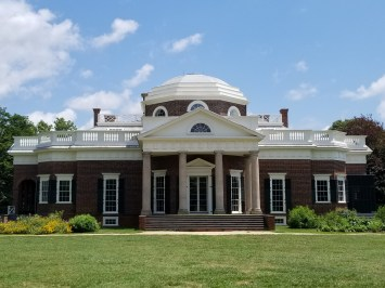 Thomas Jefferson's Monticello Plantation Home
