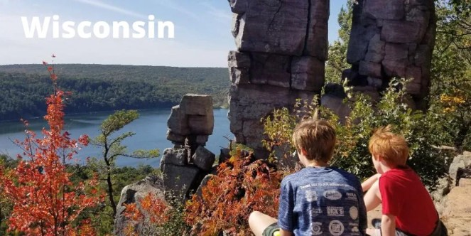 Wisconsin Family Travel Destination - Great cities to explore -Wisconsin Dells, Door County, Lake Geneva, Devil's Lake and more. #wisconsin