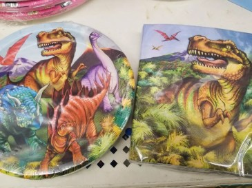 Birthday Party plates and decorations from kids. #birthday #partysupplies #partydecorations #birthdayparties #partiesforkids