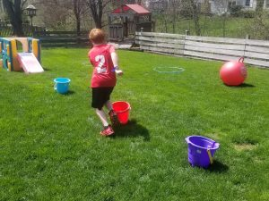 Fun Backyard Obstacle Course for kids.