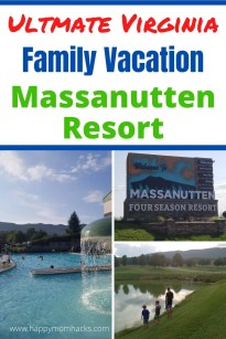 Massanutten Resort Virginia - Ultimate Family Vacation. This is a perfect family getaway Summer, Fall, Spring & Winter there are fun things to do. Enjoy skiing in the winter, and outdoor adventure parks, golfing and swimming pools in the warm weather. Plus an awesome water park any time of year. It's close to Shenandoah National Park and Shenandoah Valley. So much to Do! Use this guide to find out everything you need to know before you go. #massanuttenresort #familyvacation #familygetaway #shenandoahvalley #Virginia
