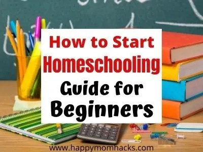How to Start Homeschooling Complete Guide for Beginners. Stop being overwhelmed by homeschooling with tips on state laws, curriculum, room set up, free printables, school supplies & educational resources. See if homeschooling will work for your family. #homeschooling #curriculum #freeprintables #educationalresources