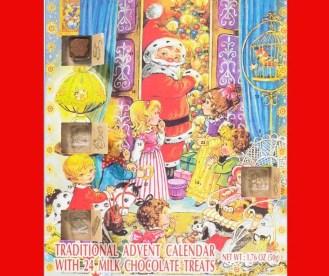 Christmas Advent Calendars with Chocolate