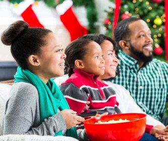 Family Movie Nights are a fun Christmas activity and tradition.