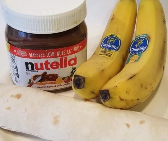 How to Make Banana Sushi Snack for Kids. Quick after school snack your kids will love!