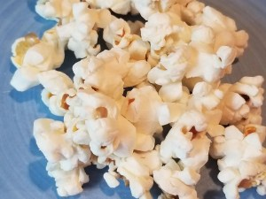 Popcorn is a fun snack idea for kids after school. It's a quick and healthy snack when the kids are starving after school and you need something fast.