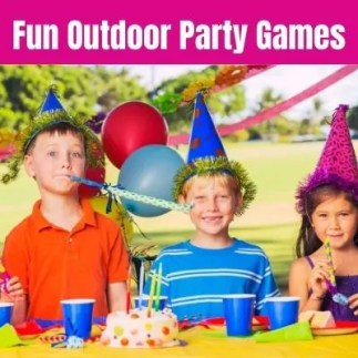 Best Outdoor Party Games for Kids Backyard Birthday Parties. Kid will love playing these fun DIY party games and ideas while celebrating your child's birthday.