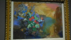 Londres National Gallery_10 - Odilon Redon - Ophelia among the Flowers
