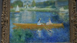 Londres National Gallery_16 - Pierre-Auguste Renoir - The Skiff (La Yole)