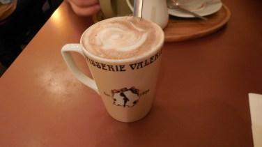 Londres - restaurant15 - Pâtisserie Valérie - chocolat chaud
