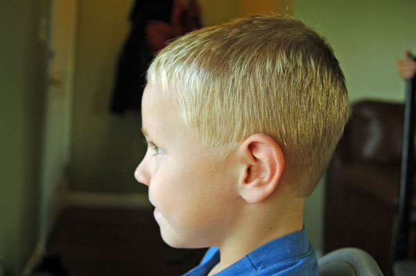 How To Cut Your Little Boys Hair Happy Money Saver