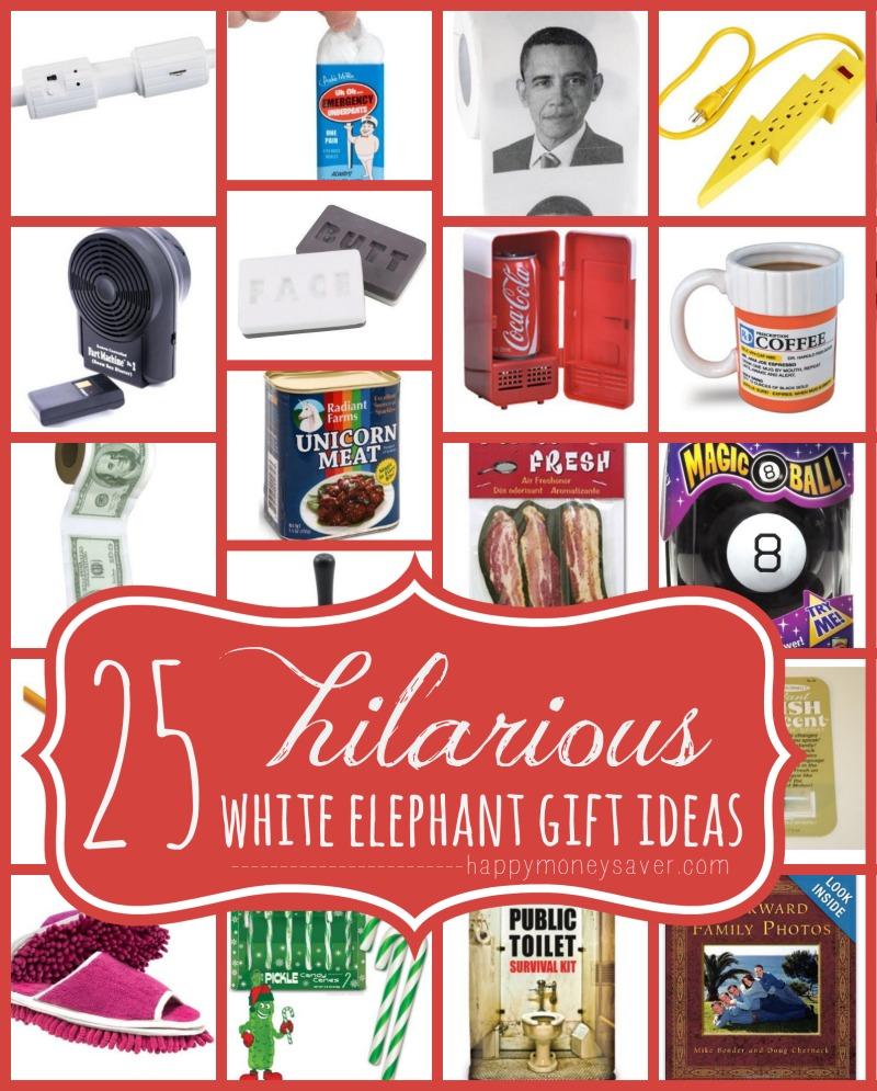 25 Best Hilarious White Elephant Gift Ideas Happymoneysaver Com