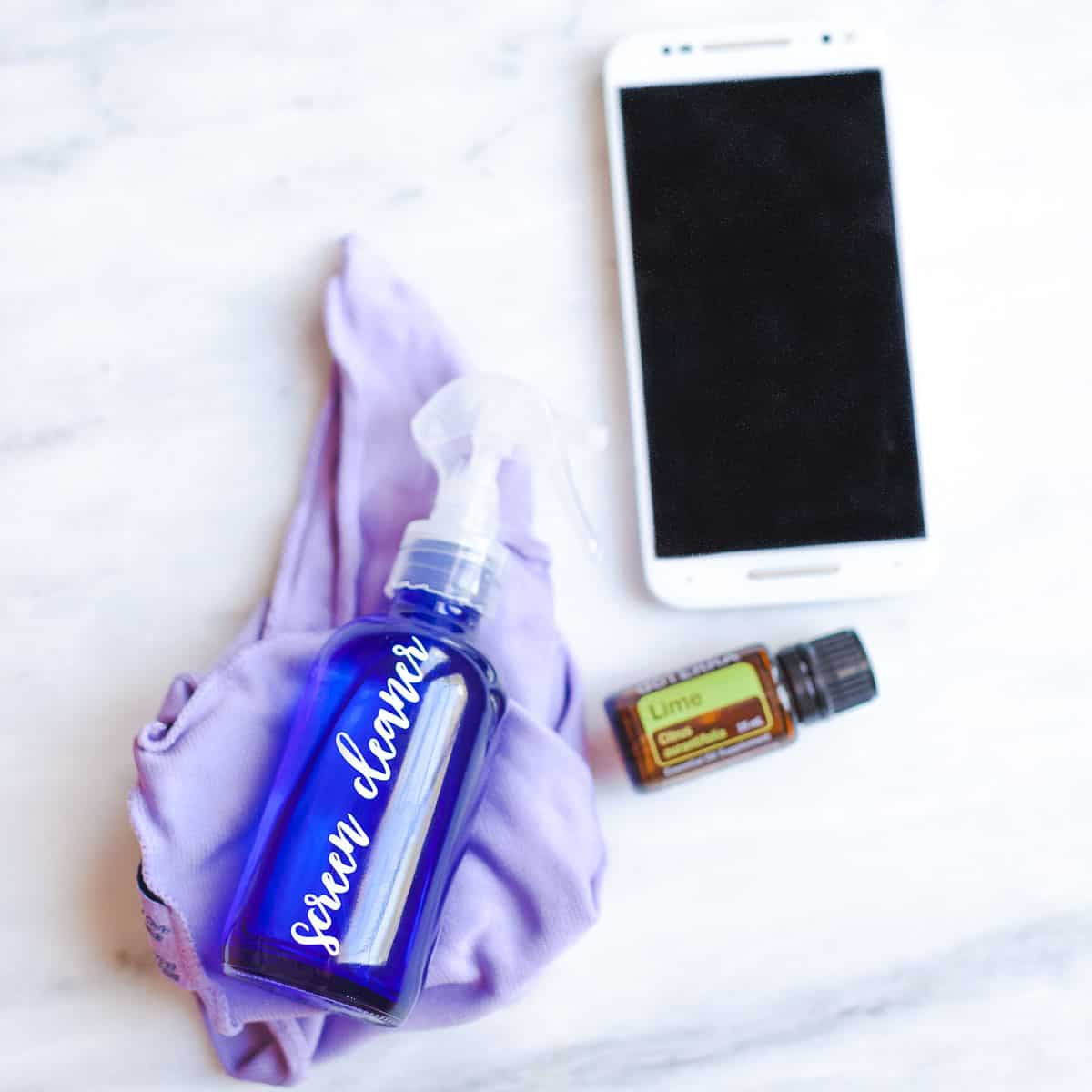 Diy Screen Cleaner With Lime Oil Happy Money Saver