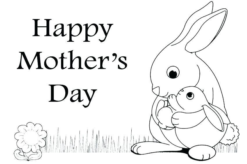Happy Mothers Day Coloring Pages 2019 & Mothers Day Poster