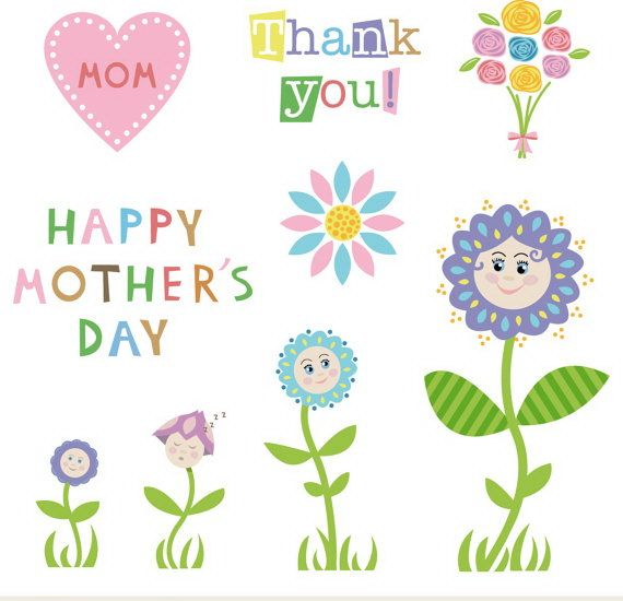 Mothers Day Clip art Images