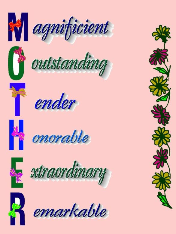 Happy Mothers Day Sayings 2018