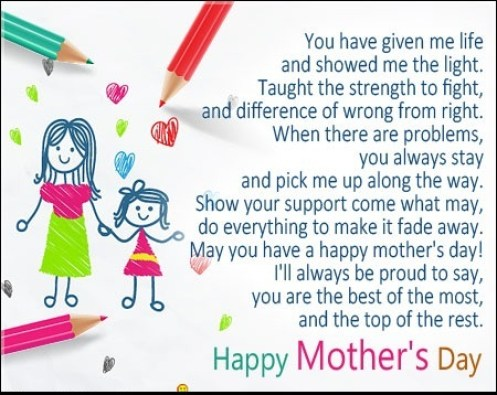 Happy mothers day card messages happy mothers day messages 2018 mothers day card messages with m4hsunfo
