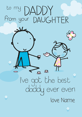 Fathers Day Cards From Daughter