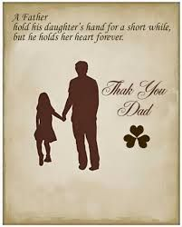 Free Fathers Day Quotes From Daughter