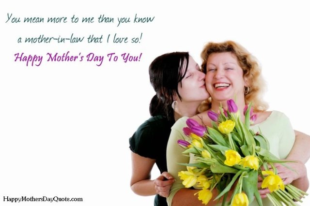 Mothers Day Quotes For Mother-In-Law