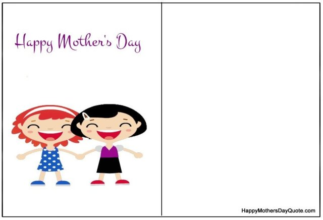 latest happy mothers day printable cards for free download