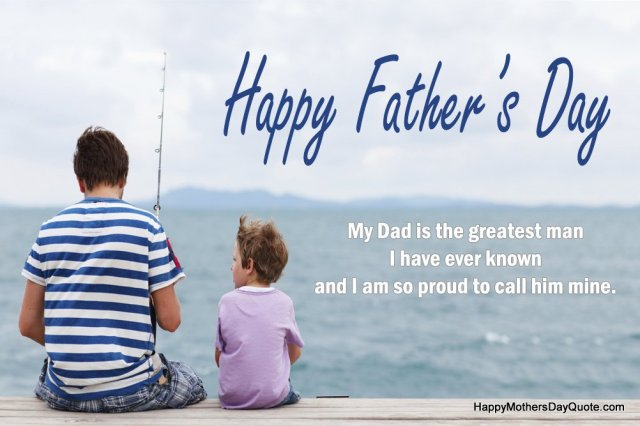 special fathers day sayings images from son
