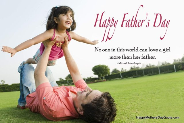 cute fathers day 2016 quotes images from daughter to father