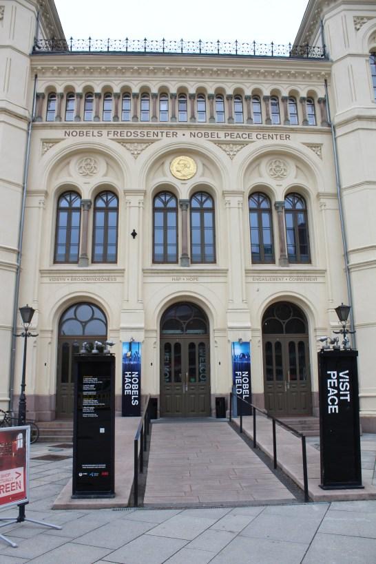 The Nobel Peace Museum!