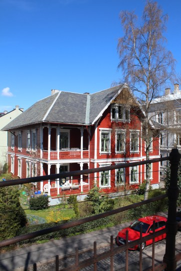 A gorgeous house on my way to Vigeland Park