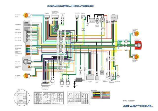 Wiring Diagram Tiger 2000