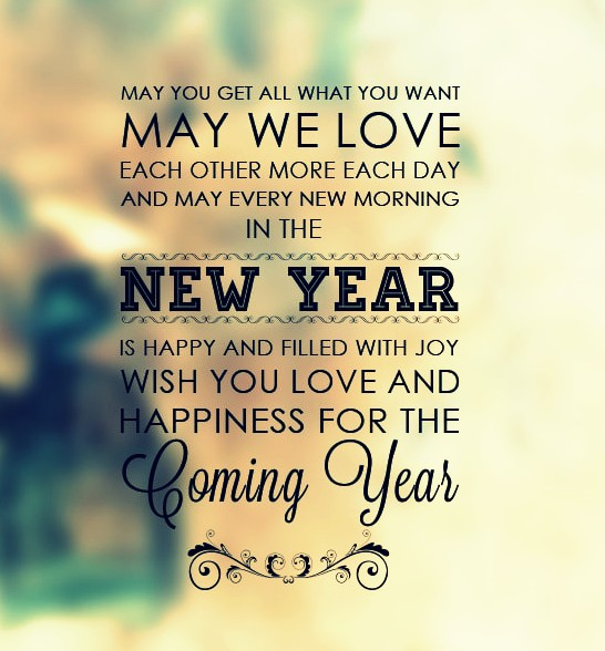 Happy New Year Greetings 3