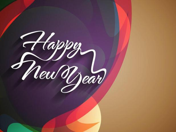 Happy New Year 3d Wallpaper