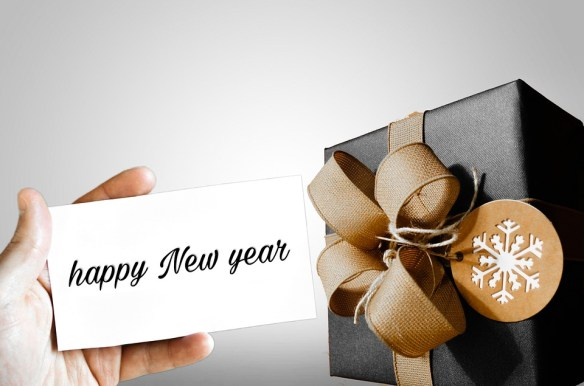 Happy New Year Gift Card
