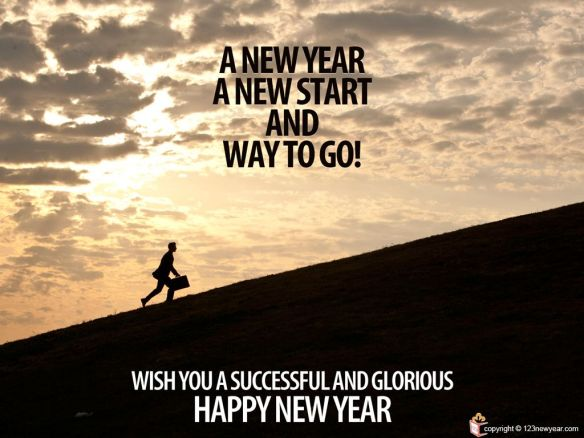 Happy New Year Motivational Wallpaper Greetings