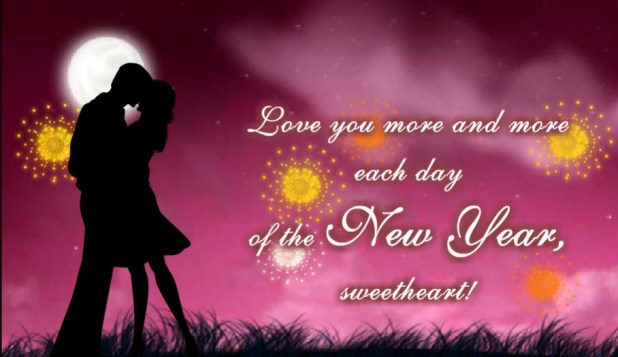 Happy New Year Blessings For Girl Friend